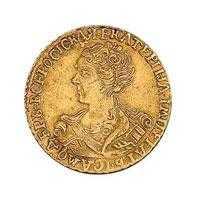 Монеты Екатерины I