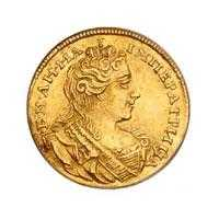 Монеты Анны Иоанновны