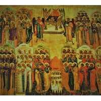 Икона Неделя всех святых 16 век, фото 1