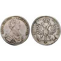 Полтина 1712 года, Петр 1, фото 1