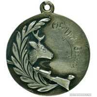Жетон призовой Общества иркутских (сибирских) охотников, фото 1
