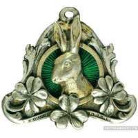 Жетон призовой Варшавского общества охотников, фото 1
