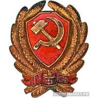 Нагрудный знак командного состава РКМ 1923-1926, фото 1