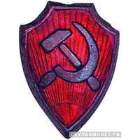 Знак на головной убор рядового и командного состава общегосударственной РМК, фото 1