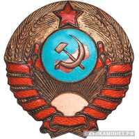 Единый знак на головной убор сотрудника милиции. 11 лент, фото 1