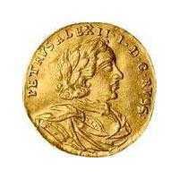 Монеты Петра I