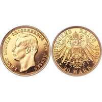 20 марок Эрнст Людвиг. Гессен. 1905-1911, фото 1