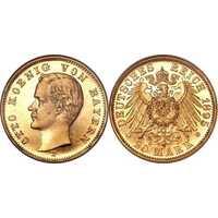 20 марок Отто. Бавария. 1895-1913, фото 1