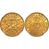 20 марок. Бремен. 1906 год, фото 1