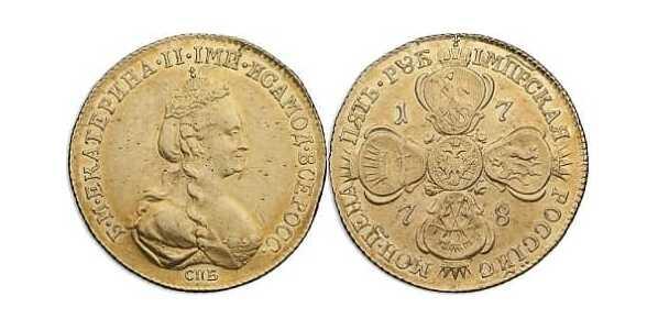5 рублей 1778 года, Екатерина 2, фото 1