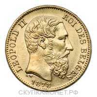 20 франков 1878 года, фото 1