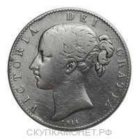 1 крона 1844 года, Регулярный выпуск, фото 1