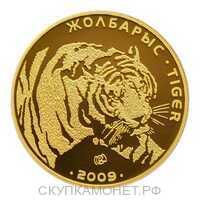 500 Тенге 2009 года, Тигр, фото 1