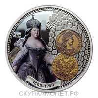 1 Доллар 2013 года, Анна Иоановна, фото 1