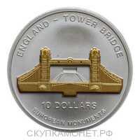 10 Долларов 2005 года, Тауэрский мост, фото 1