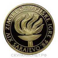 5000 Динар 1984 года, Олимпиада в Сараево, фото 1