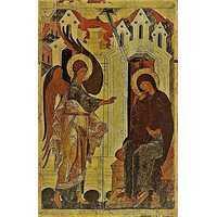 Икона Благовещение 15 век, фото 1