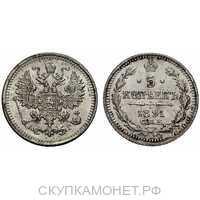 5 копеек 1891 года (серебро, Александр III), фото 1