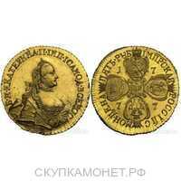 5 рублей 1777 года, Екатерина 2, фото 1