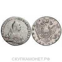Полтина 1767 года, Екатерина 2, фото 1