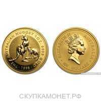 """100 долларов 1996 года """"Кенгуру""""(золото, Австралия), фото 1"""