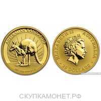 """100 долларов 2011 года """"Кенгуру""""(золото, Австралия), фото 1"""