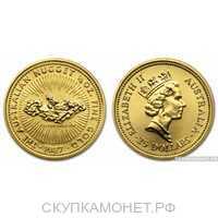 """15 долларов 1987 года """"Наггет""""(золото, Австралия), фото 1"""