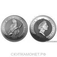 "30 долларов 1995 года ""Кукабарра""(серебро, Австралия), фото 1"
