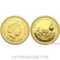 """100 долларов 2004 года """"Кенгуру""""(золото, Австралия), фото 1"""