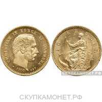 10 крон 1872-1917 года (золото, Дания), фото 1
