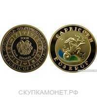 "10000 драм 2008 года ""Козерог""(золото, Армения), фото 1"