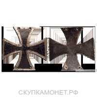 Кульмский крест для нижних чинов, 1813 г., фото 1