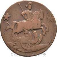 2 копейки 1762 Пётр 3, фото 1