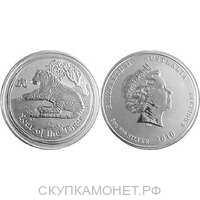 8 долларов Елизавета II. Лунар. Год Тигра. 2010, фото 1